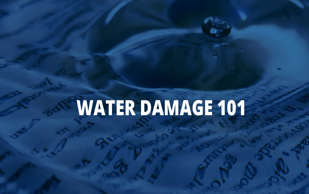 Water Damage 101